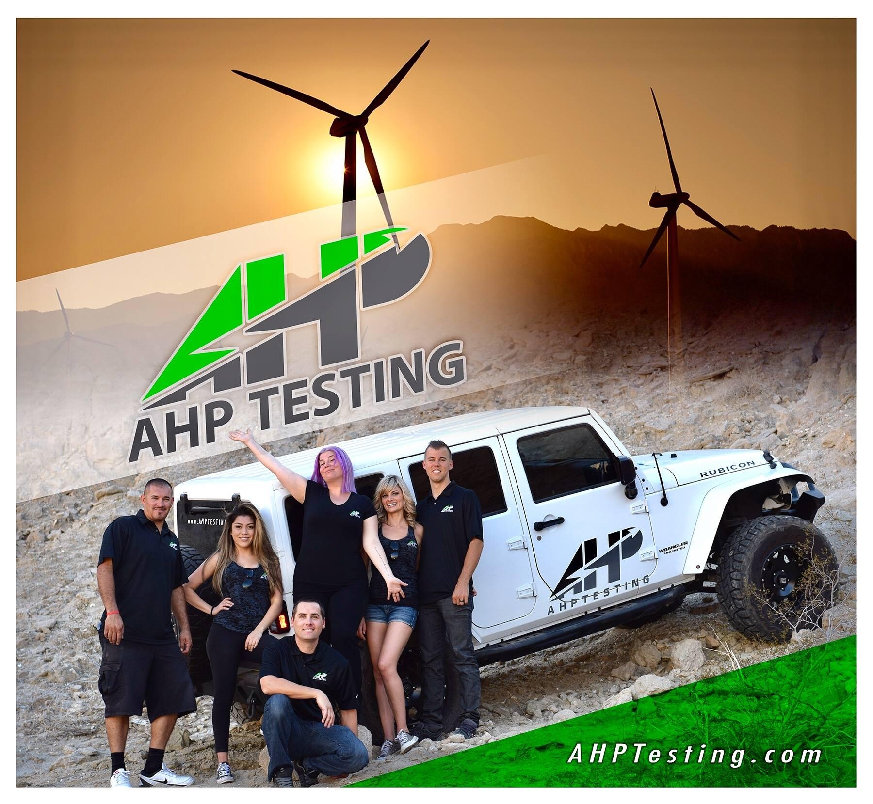 AHP Testing Team